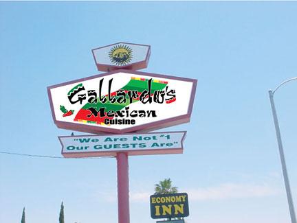 Gallardo's Resturant Barstow, California