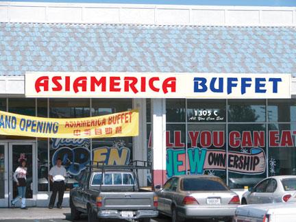 Asiamerican Buffet Barstow, California